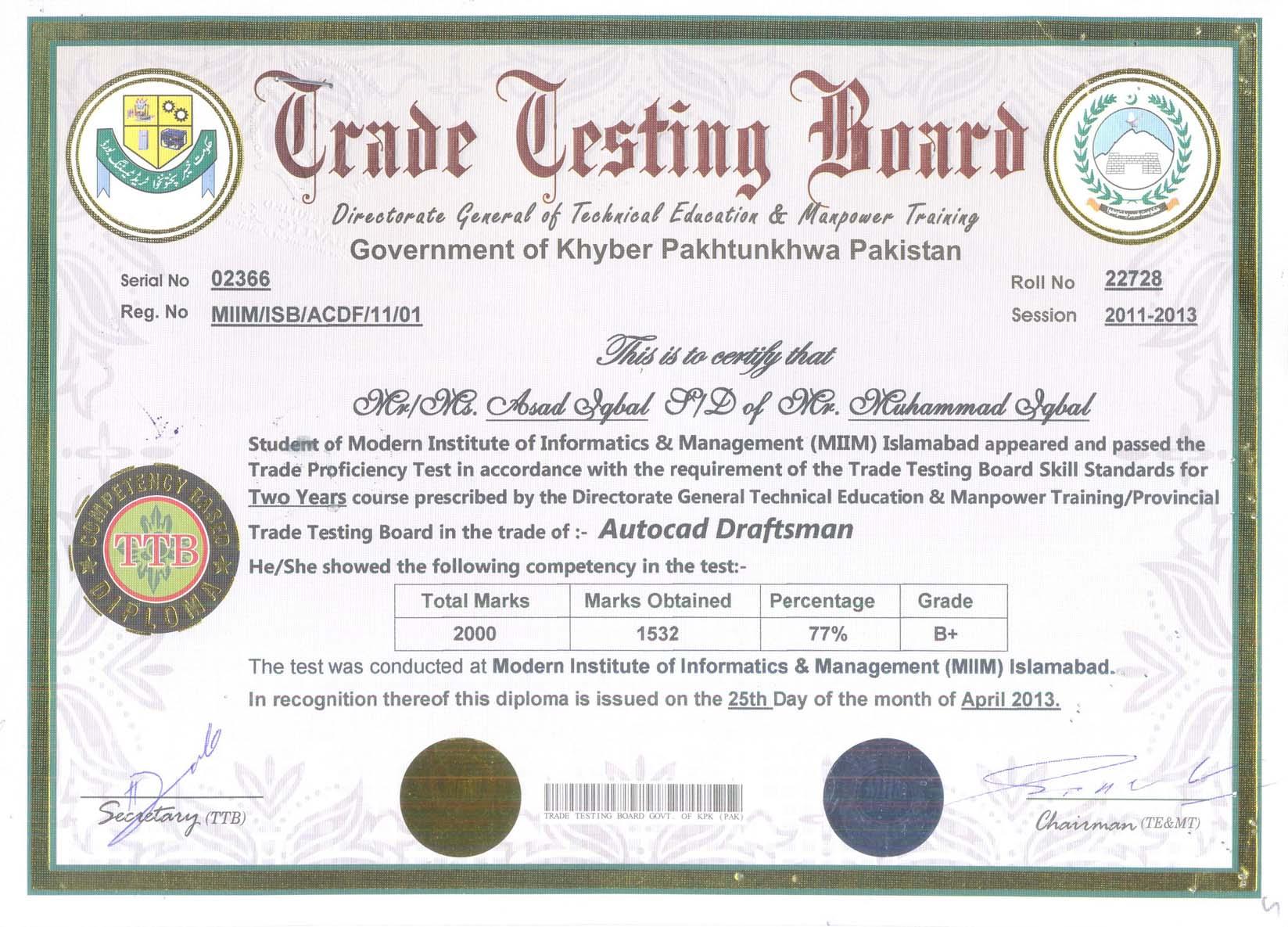 saudi embassy attested sample diplomas the miim islamabad