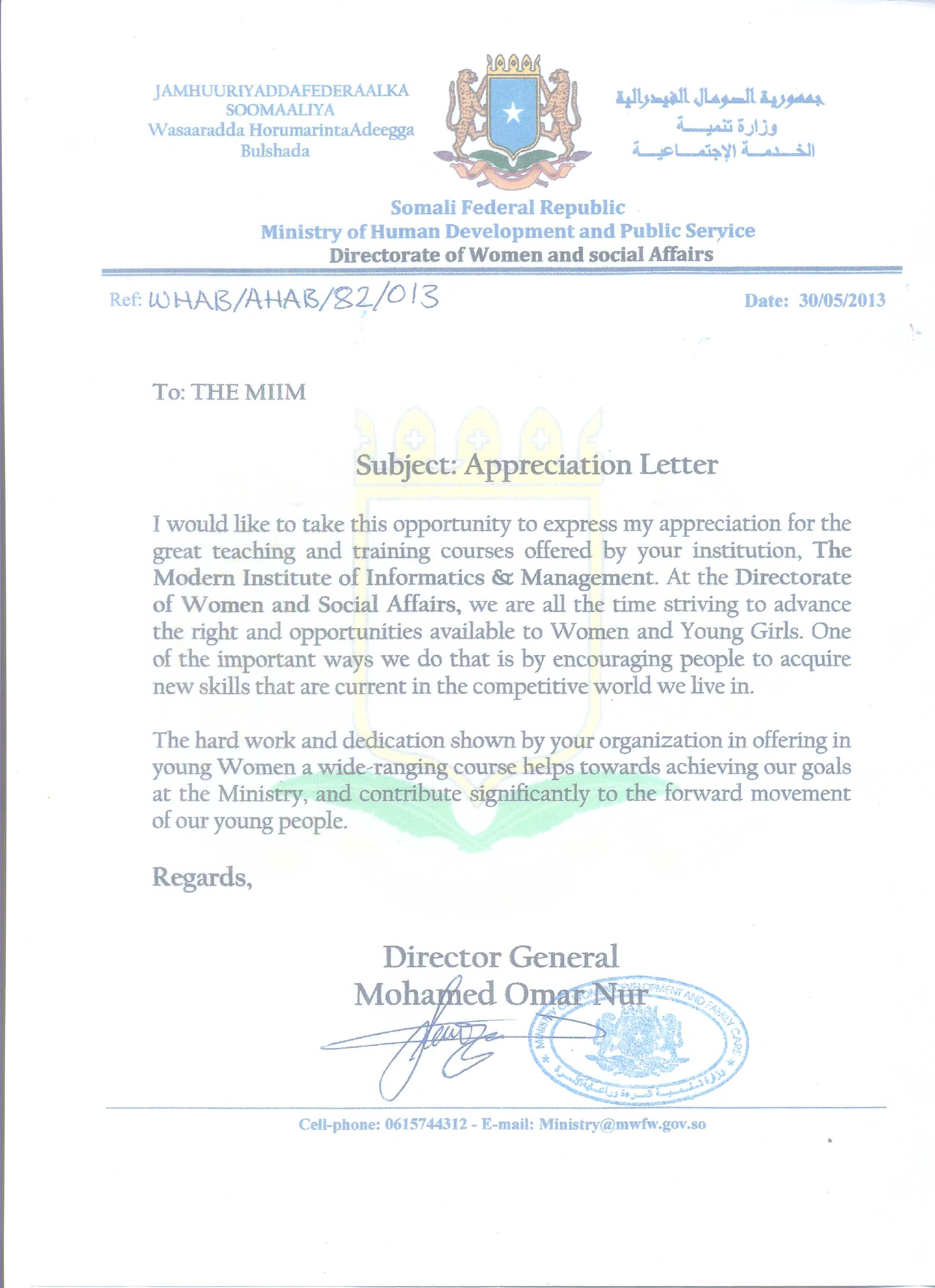 thanking letter for offer letter