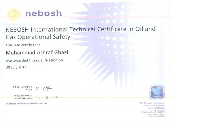 Nebosh Amp Iosh Registration In Progress The MIIM Islamabad