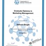 OBP Graduate Diploma Sample